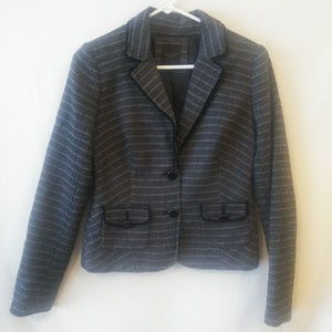 The Limited Collection XS Black White Tweed Blazer